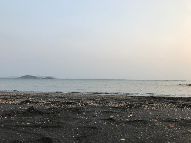 Tilamati black sand beach